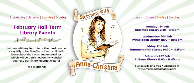 Storytime with Anna-Christina February Library Events