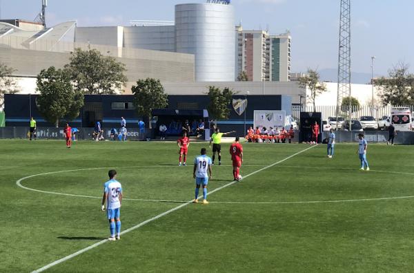 Malagueño y El Palo FC empatan en un gran partido (1-1)