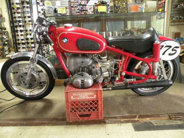 Nelson's BMW airhead motorcycles: R69S for sale,BMW road racer