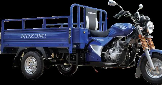 Nozomi Azabu 150 Motor Roda 3 yang Paling Bagus Untuk Aktivitas Anda