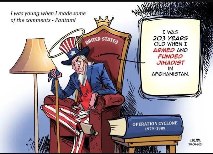 NEWS: Bulama's Recent Cartoon Justifies  Pantami's Response To The Terrorism Accusation
