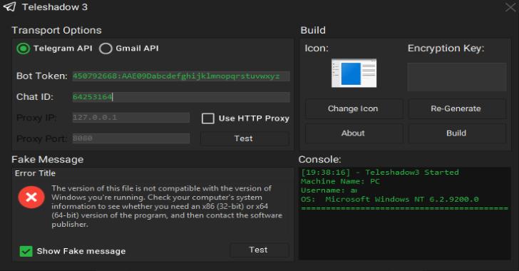 TeleShadow3 : Telegram Desktop Session Stealer (Windows)