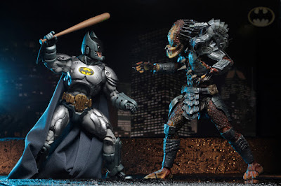 San Diego Comic-Con 2019 Exclusive Batman vs Predator Action Figure 2 Pack by NECA x DC Comics x Dark Horse