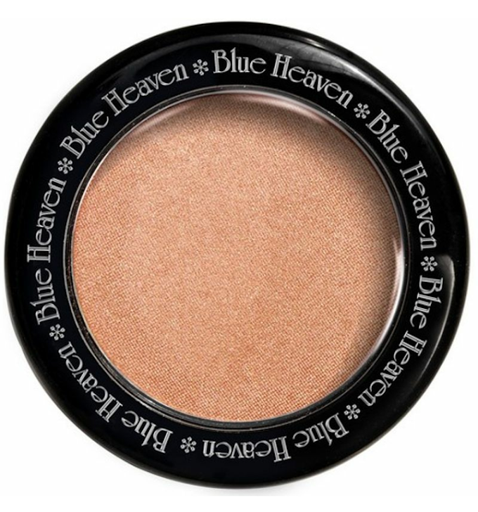 CHEAPEST HIGHLIGHTER IN INDIA || BLUE HEAVEN DIAMOND BLUSH-ON (505) REVIEW