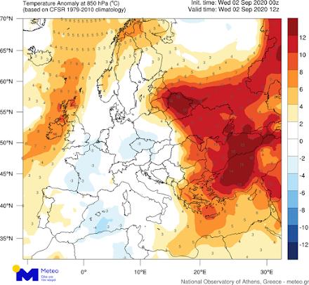 ΕΑΑ: Πόσο ασυνήθιστο είναι το κύμα ζέστης που επηρεάζει τη χώρα μας;