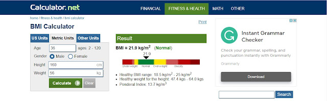 Cara Menghitung Berat Badan Ideal dengan Kalkulator BMI Secara Online