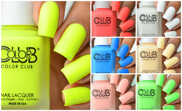 Color Club Pop Chalk Collection