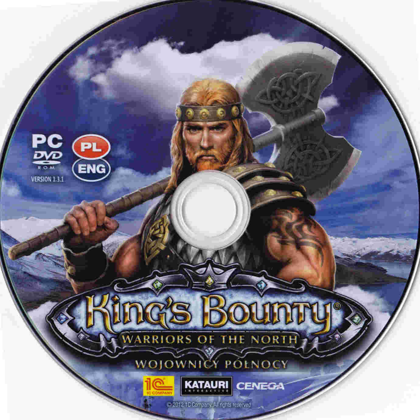 King's Bounty: Warriors Of The North - Capa PC Game