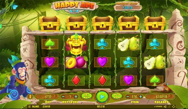 Main Gratis Slot Indonesia - Happy Ape Habanero