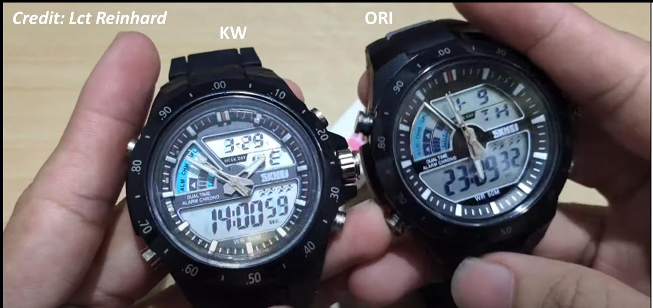 Cara Membedakan Jam Tangan SKMEI ORI dan KW