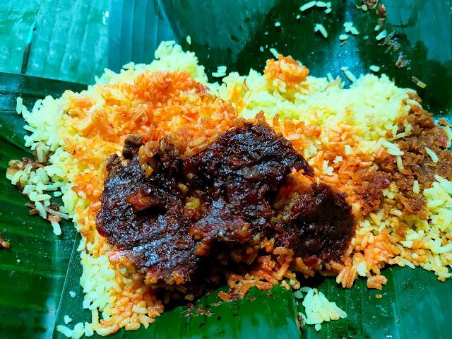 Nasi kuning Banjar favorit