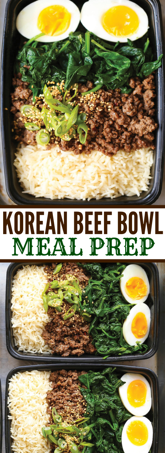 KOREAN BEEF BOWL MEAL PREP #lunch #bbq