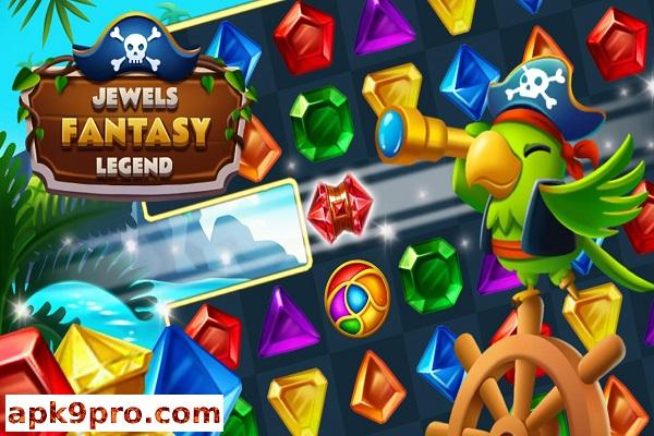 Jewels Fantasy Legend v1.1.5 Apk + Mod (File size 50 MB) for android