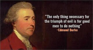 Edmund Burke quotation