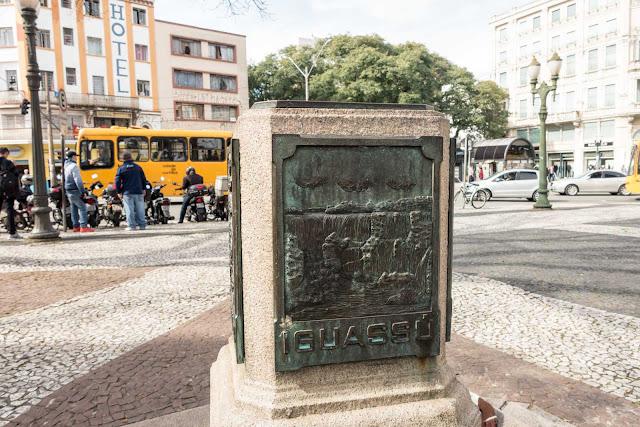 O Marco Zero de Curitiba