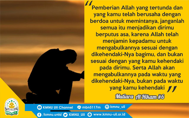[QUOTE] Doa Pasti Dikabulkan - Al Hikam #6