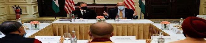 Risking China's Anger, Antony Blinken Meets Representative of Dalai Lama In India