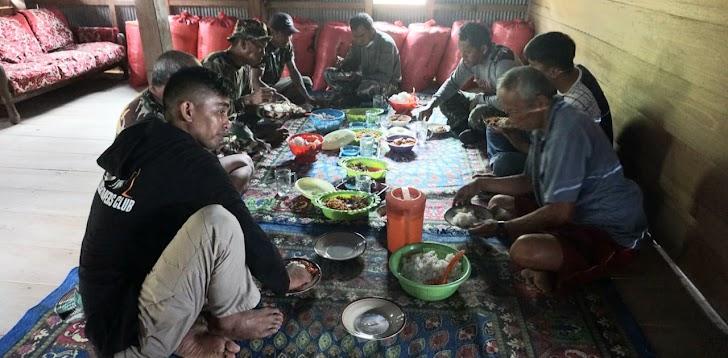 Penrem 141/Tp, Tim Satgas TMMD Kodim 1422/Maros, Utamakan Kebersamaan Dengan Masysrakat