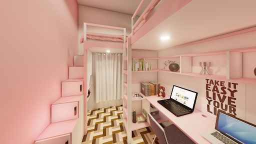 Girly theme room by a netizen, wowed the people after sharing the outcome of her room make-over! - GazeFeed