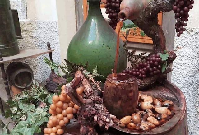 fontana vino Dolceacqua Liguria