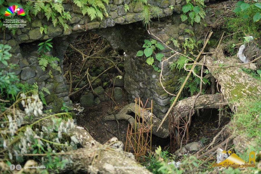 Budiao Ruins is the name for a ruined church in Brgy. Budiao, Daraga, Albay