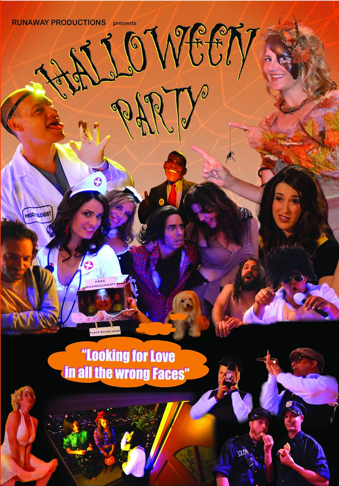 The Horrors of Halloween: HALLOWEEN PARTY (2012) Trailer, Posters ...