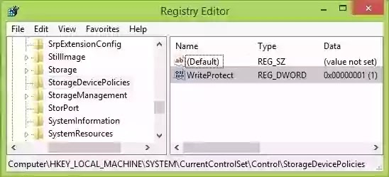 How to format write protected pen drive using Windows 10