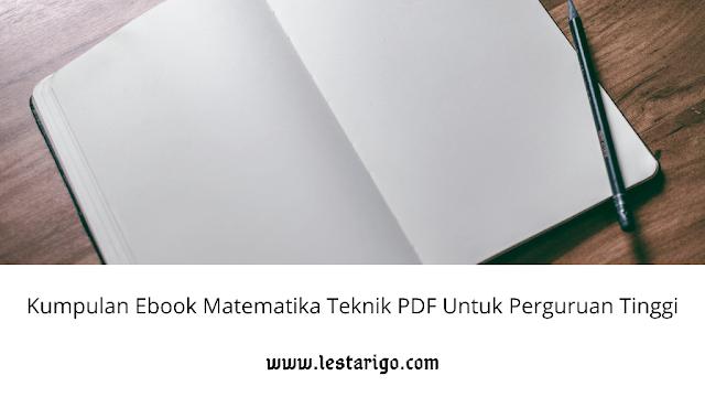 download ebook matematika teknik pdf untuk perguruan tinggi