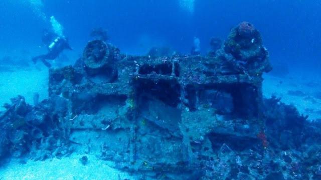 Wreck Dive Lapangan Pante