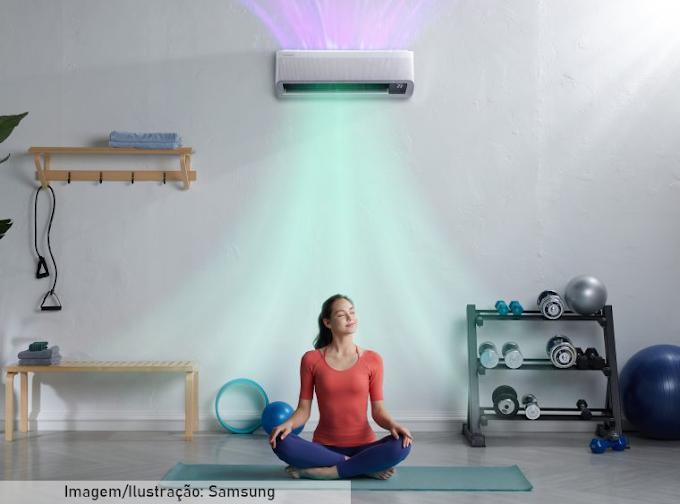 Samsung lança nova linha de ar-condicionado sem vento