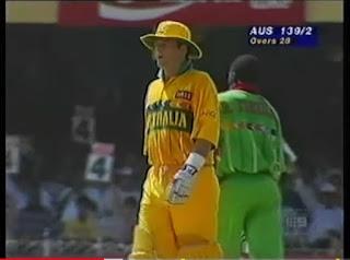 Mark Waugh 130 - Australia vs Kenya 12th Match Wills World Cup 1996 Highlights