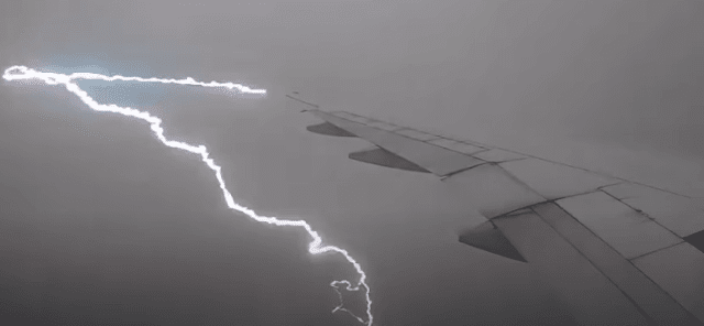airplanes and storms