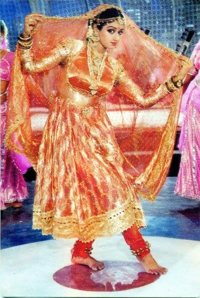 Sridevi 1980s Fashion In Bollywood