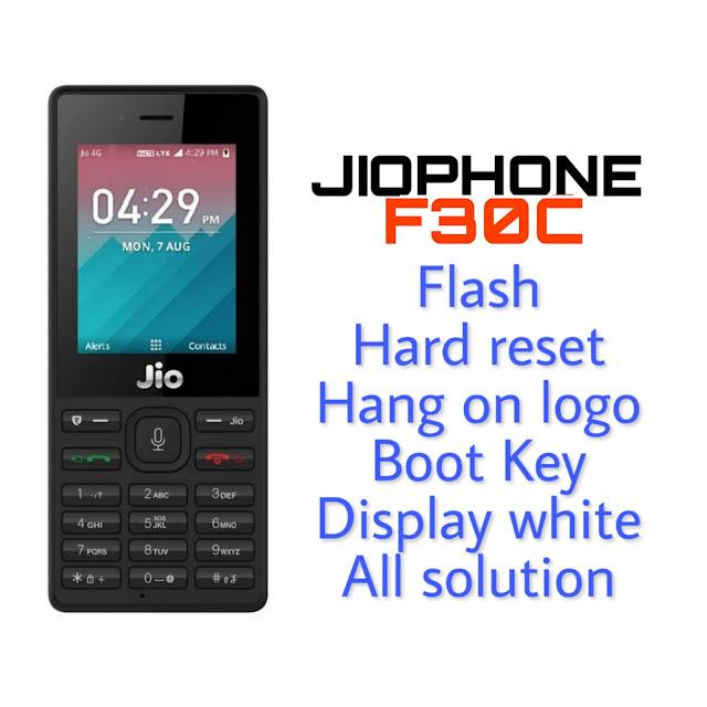 Jio Phone F30c Flash File Download
