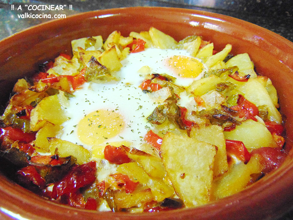 Huevos En Fritada Al Horno