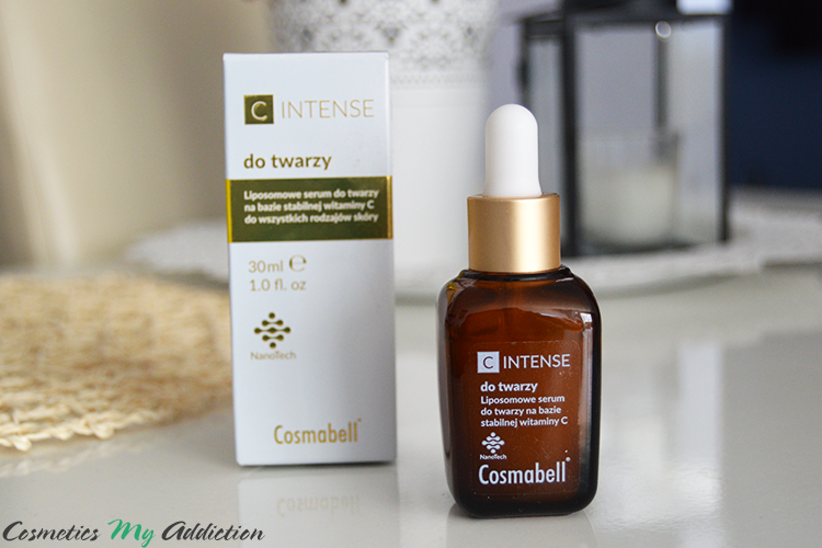 COSMABELL | Liposomowe serum do twarzy na bazie witaminy C, C intense