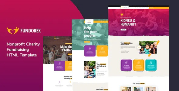 Best Charity & Donation HTML Template