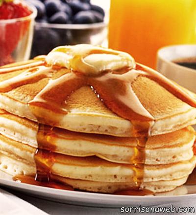 Pancake - Sorriso na Web