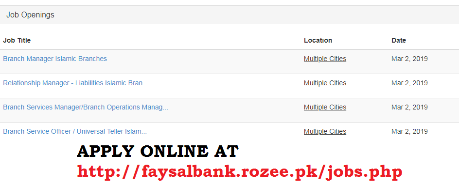 Faysal Bank Jobs, Faysal Bank Careers, jobs in faysal bank for teller, Faysal Bank Jobs 2019 March for Universal Teller Islamic Branches