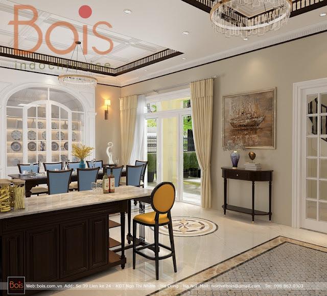 Thiết kế nội thất phong cách đông dương phong cách Indochine hiện đại