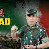 Pangdam Hasanuddin Ucapkan Selamat Ulang Tahun Dinas Pembinaan Mental TNI AD