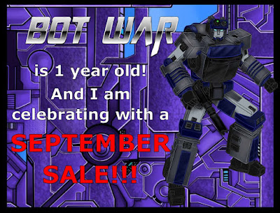 Happy Birthday Bot War from Traders Galaxy