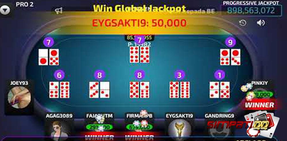 Jackpot Poker Ceme dan Domno di Agen Poker SimpatiQQ