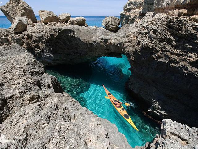 Caiaque em Formentera