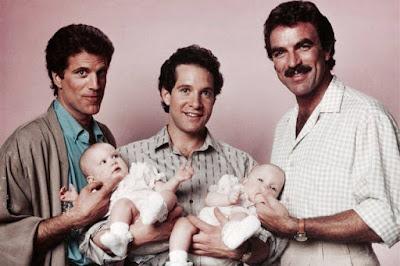 Steve Guttenberg en 'Tres hombres y un bebé'