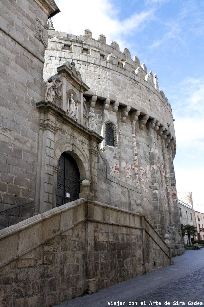Cimorro Catedral Ávila