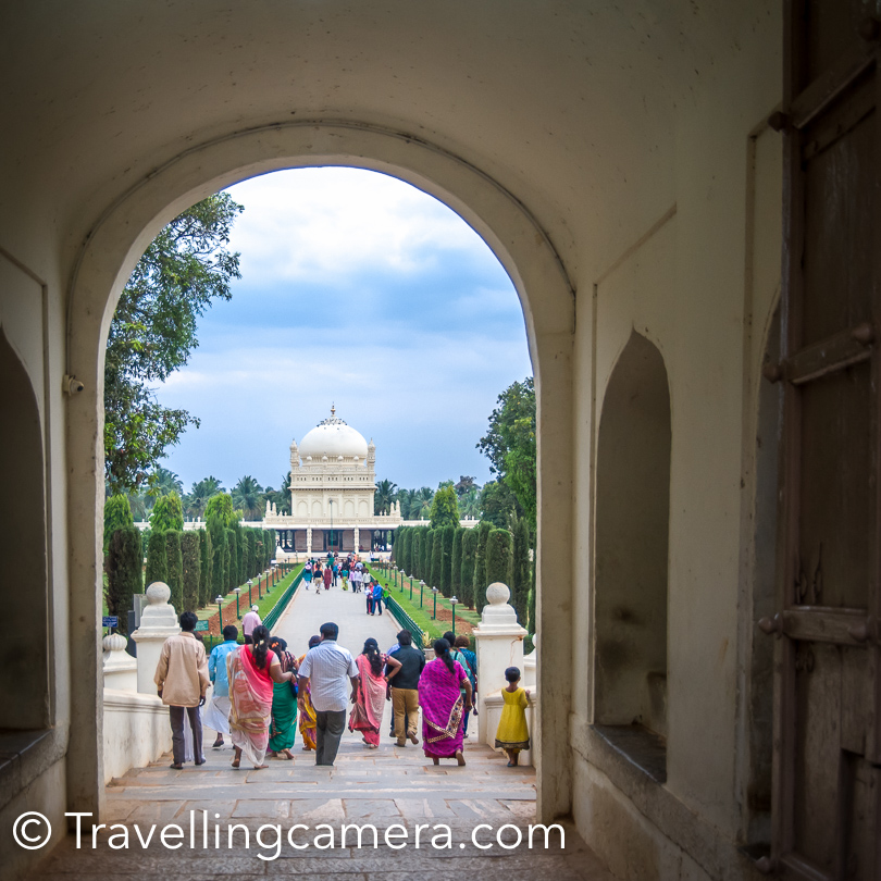 At 3:45pm we started for Srirangapatna. Srirangapatna is one of the important historical town in Karnataka state of India and located near the city of Mysore.