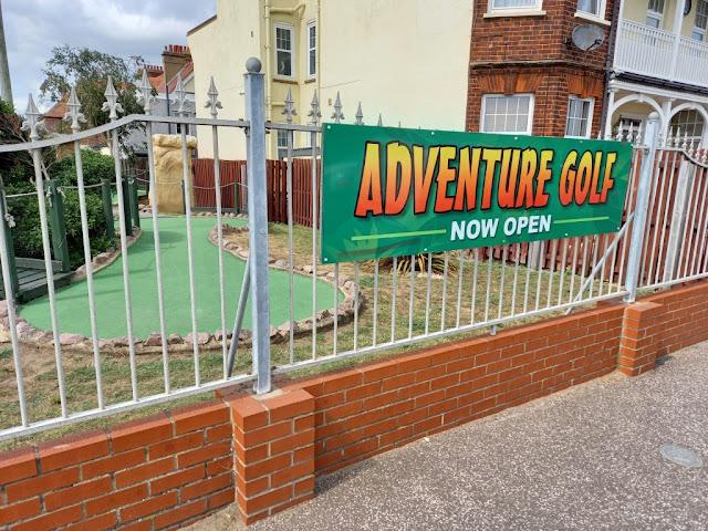 Fantasia Adventure Golf in Felixstowe Suffolk
