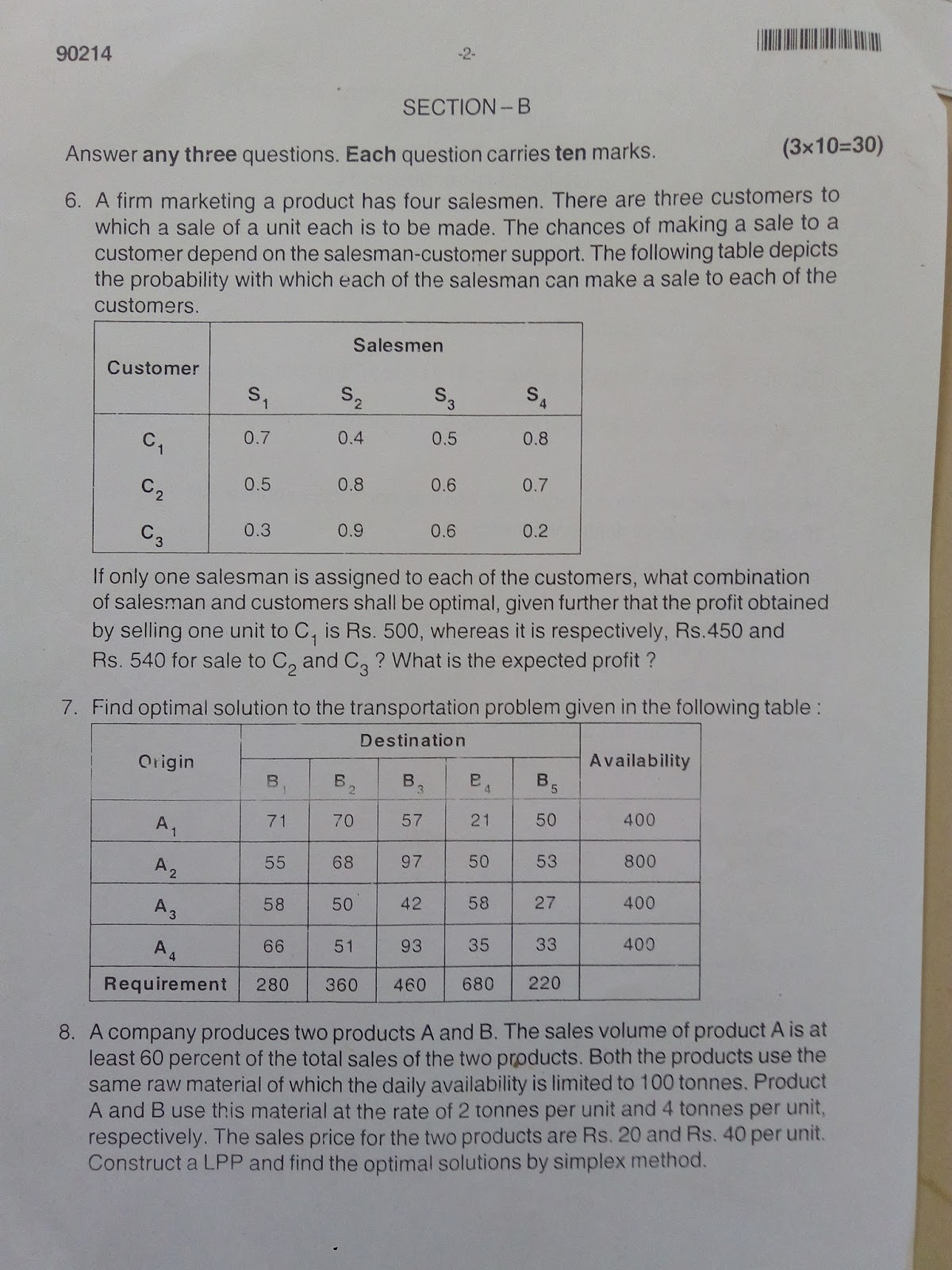 mba mysore university question papers [ 1200 x 1600 Pixel ]