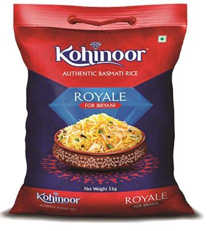 Kohinoor Authentic Royale Biryani Basmati Rice 5 Kg | Special Biryani Rice